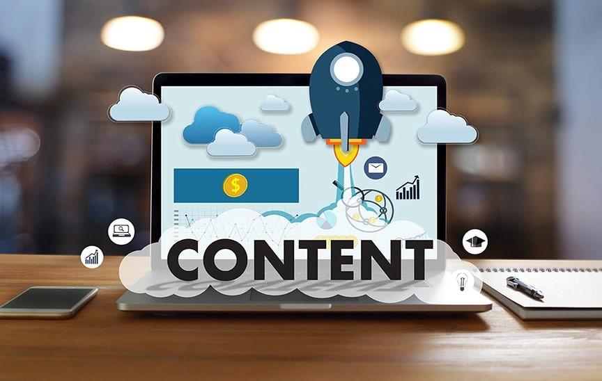 CONTENT marketing Data Blogging Media Publication Information Vi