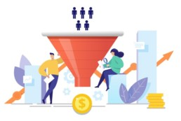 Marketing Funnel, Marketing, Advertising, CRM, web design and development