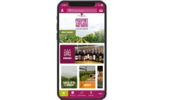 GSWGA Mobile App, Home Page, IGM Marketing, advertising venues