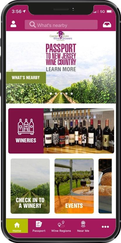 new jersey wines app
